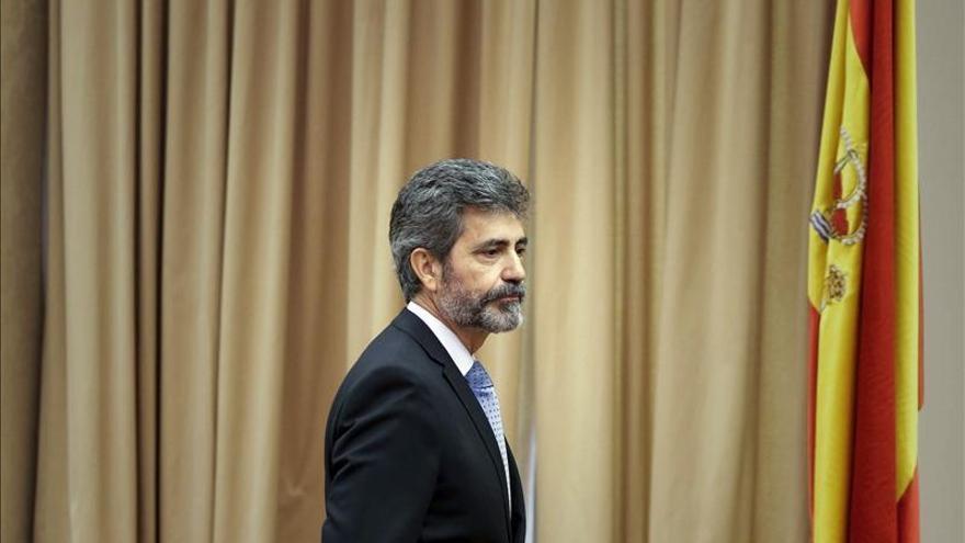 Vocales progresistas del CGPJ exigen a Lesmes renovar la comisión que lo controla