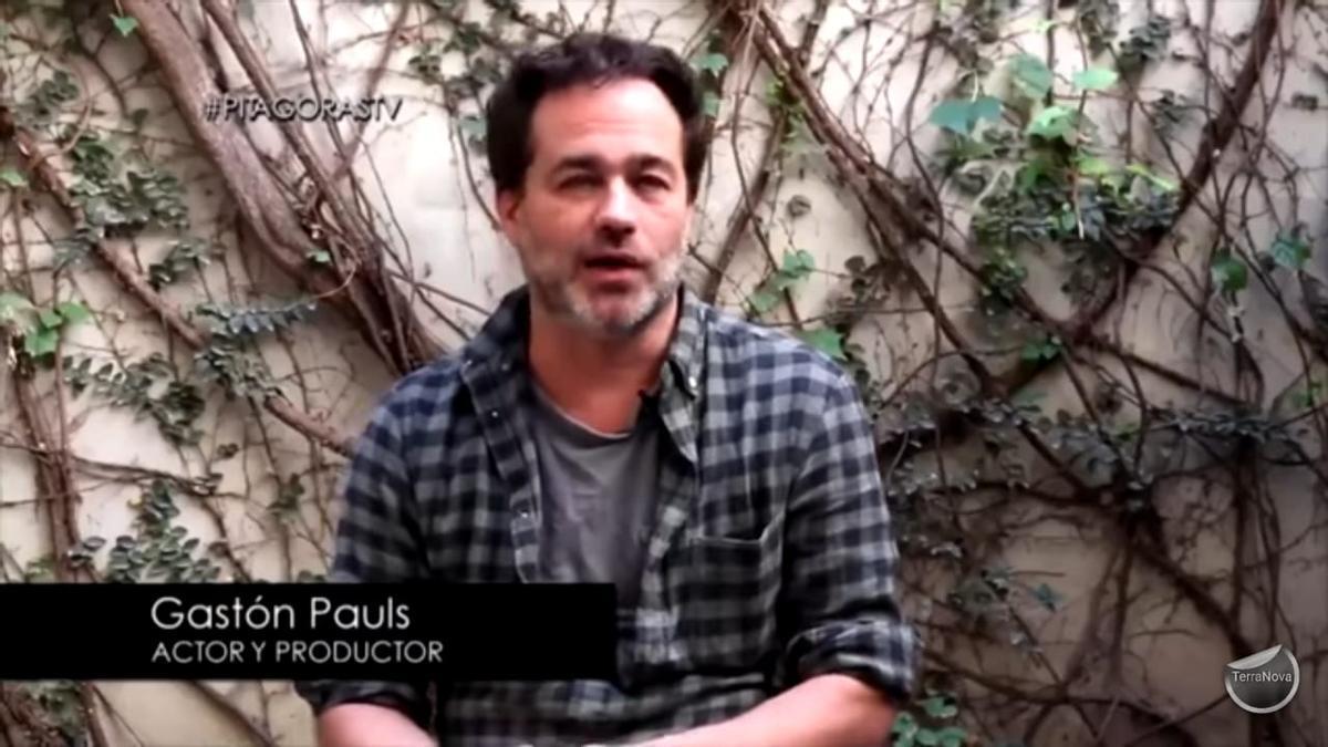 Gastón Pauls en el documental Pitágoras.