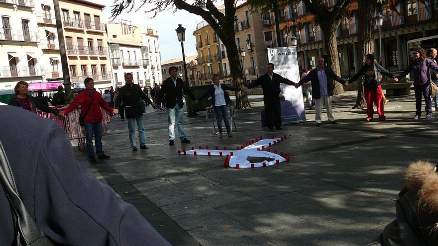 Rueda de hombres contra la violencia de género en Toledo. FOTO: Ahige