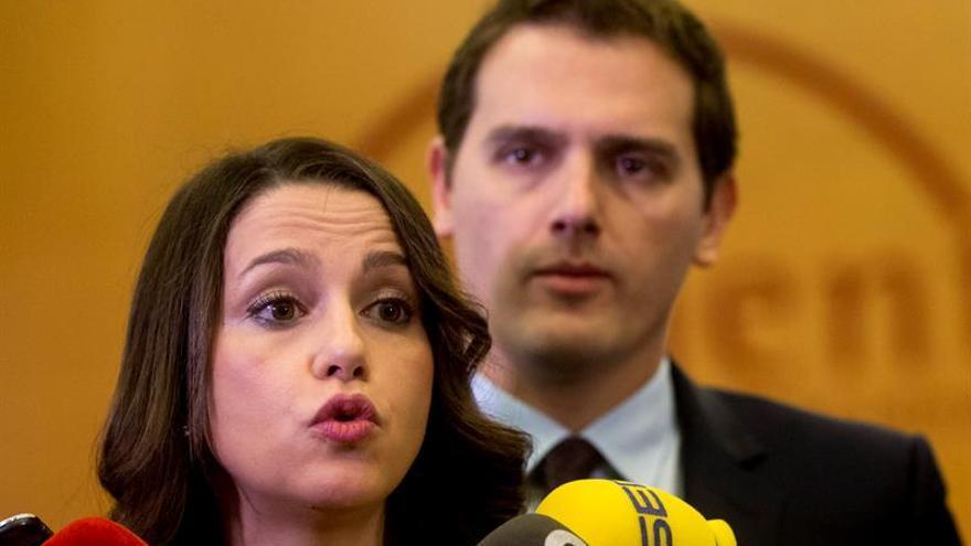Inés Arrimadas y Albert Rivera, líderes de Ciudadanos