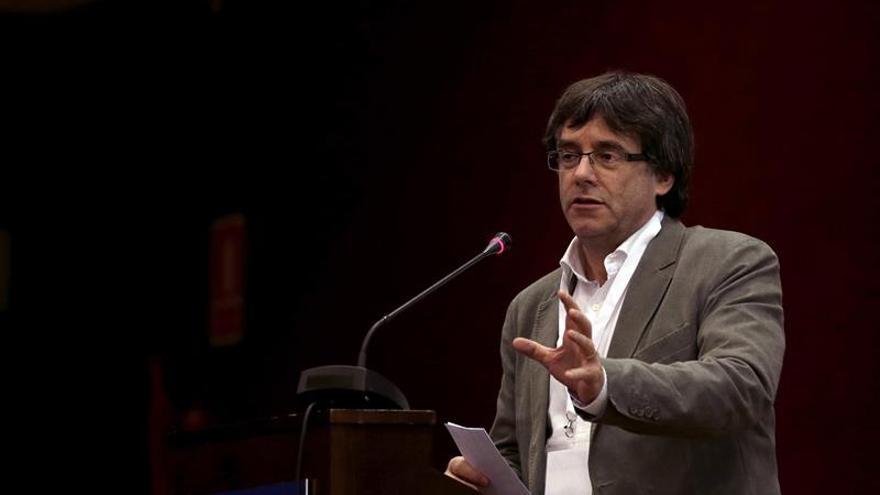 """Puigdemont niega que haya negociación, """"ni privada ni oficial"""", con el Gobierno"""