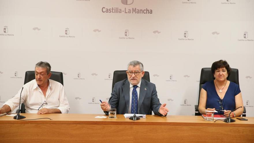 El consejero de Educación, Ángel Felpeto, en rueda de prensa / JCCM