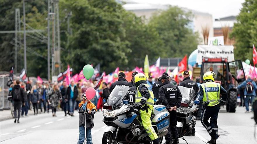 Las primeras manifestaciones contra la cumbre del G20 se centran en el cambio climático