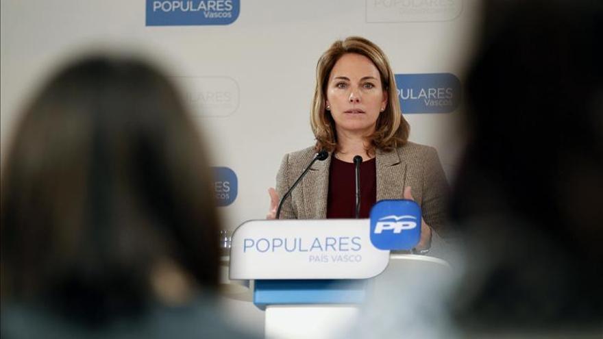 "Quiroga da por ""absolutamente"" cerrada la crisis del PP Vasco"