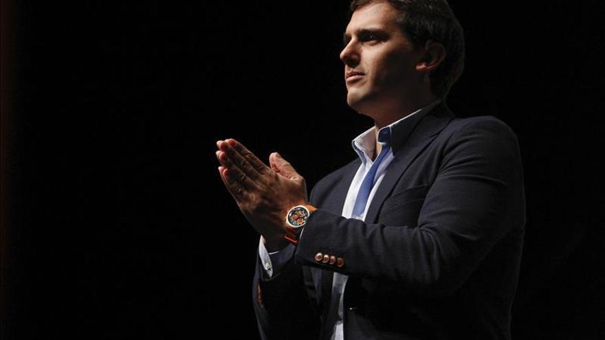 """Rivera, feliz por liderar el único proyecto que """"genera ilusión"""" en España"""