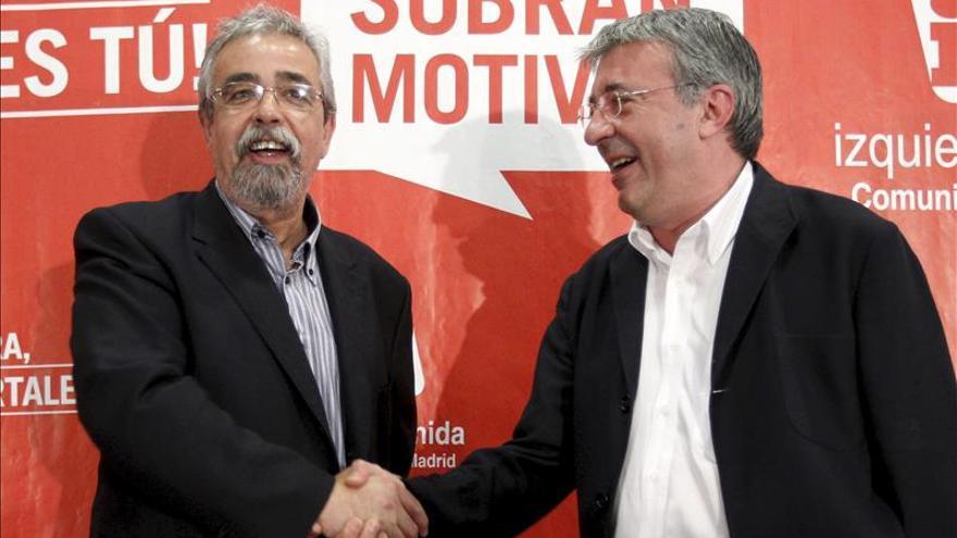 La mayoría de los dirigentes de IU quieren expulsar a los portavoces de Madrid si no dimiten