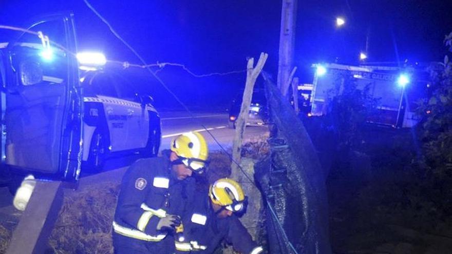 Fallece un motorista en un accidente en Meis