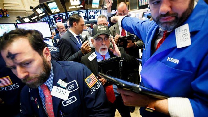 Wall Street abre con pérdidas y el Dow Jones baja un 0,39 %
