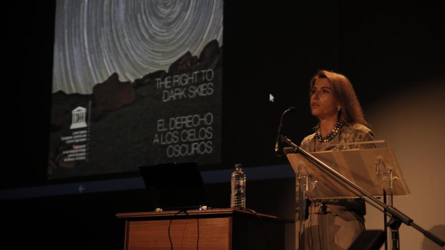 Nuria Sanz, directora y representante de la oficina de la Unesco en México. Foto: Elena Mora (IAC)