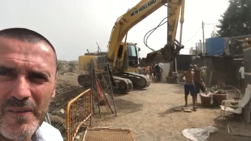 Esta es la situación de los vecinos a los que la empresa Desokupa expulsó de sus chabolas en Tauro