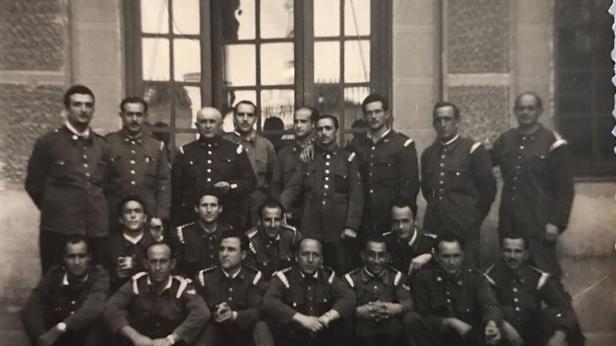 Juan Redondo indagó en los archivos del cuerpo de bomberos de Madrid.