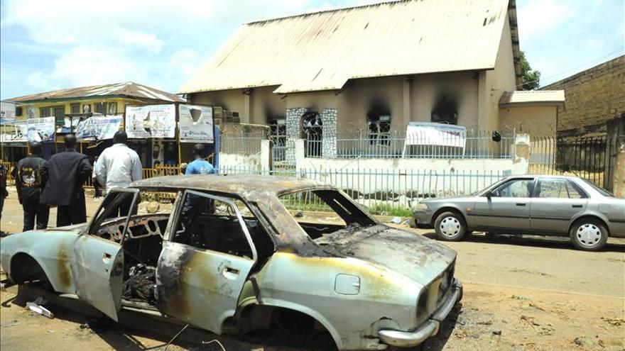 Al menos 30 muertos en un doble atentado suicida en Nigeria