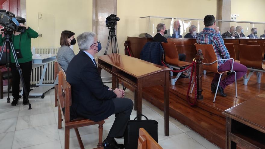 José Enrque Fernández de Moya durante el juicio