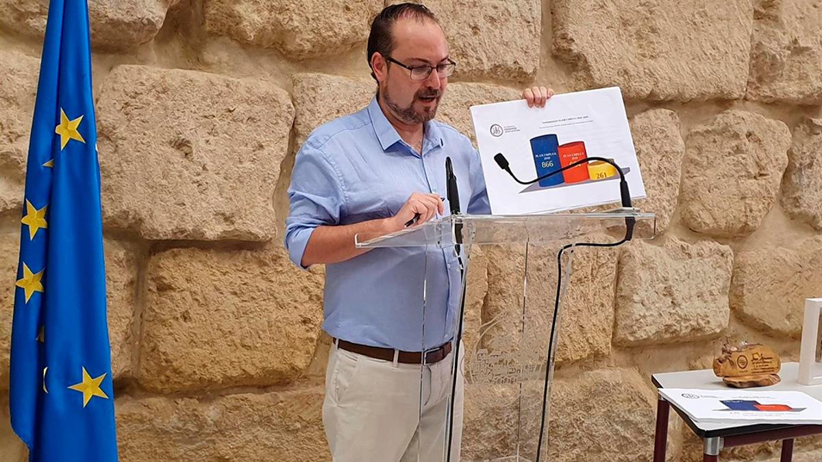 El concejal de Podemos en el Ayuntamiento de Córdoba, Juan Alcántara.