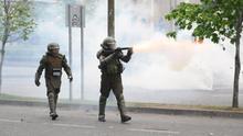 Prisión preventiva para un militar por abuso de funciones en las protestas en Chile