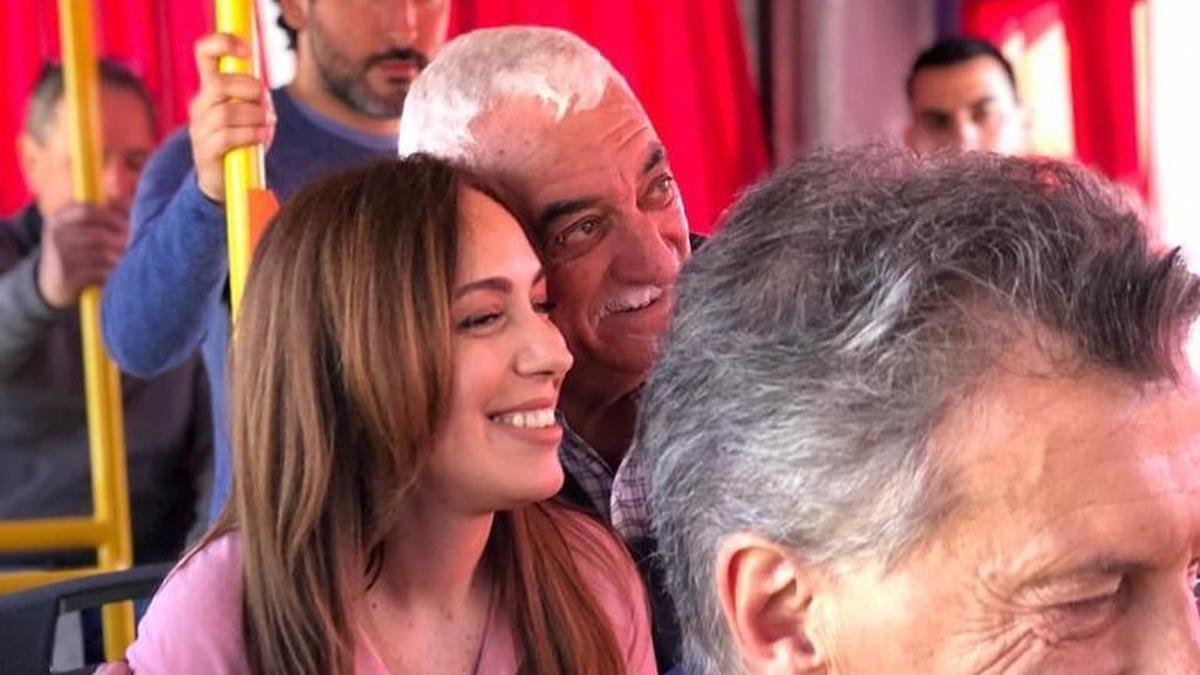 María Eugenia Vidal en campaña junto a Mauricio Macri en 2019