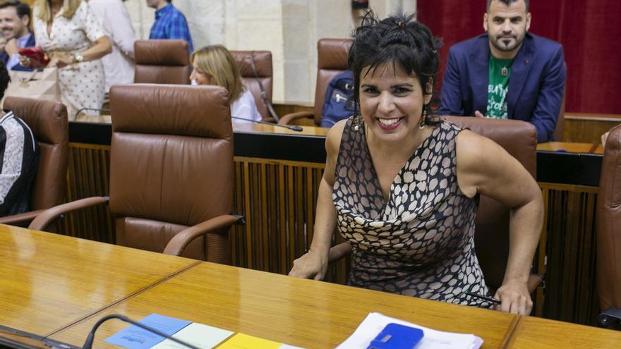 Teresa Rodríguez donará las dietas cobradas en su baja por maternidad después de que el Parlamento niegue su devolución