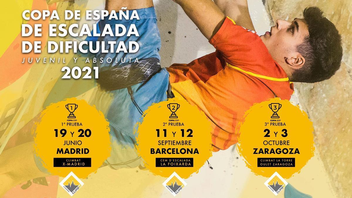 Copa de España de Escalada de Dificultad Juvenil y Absoluta
