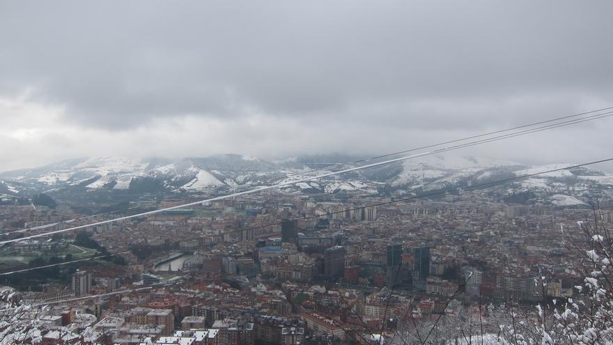 Activado para este sábado y domingo en Euskadi el aviso amarillo por nieve en el interior
