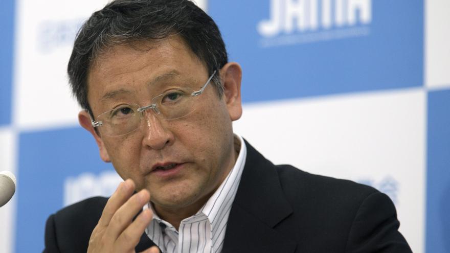 El presidente de Toyota lamenta violencia en China contra la industria japonesa del motor