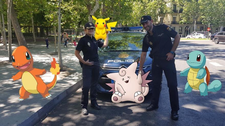 Los Pokemon de la Policía