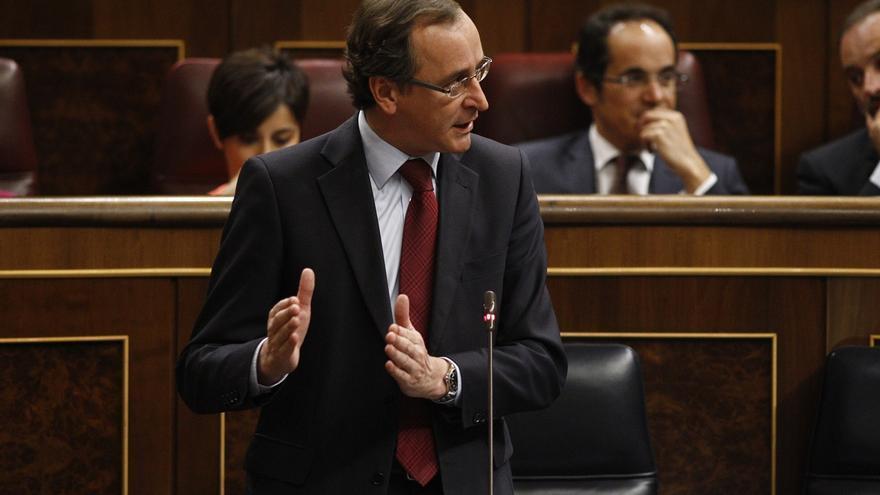 """Alonso apela """"a la razón"""" y a la """"convivencia"""" frente a """"pasiones"""" que buscan """"dividir a la sociedad catalana"""""""