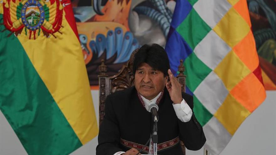 """Evo Morales invita formalmente a Piñera a """"reiniciar el diálogo"""" sobre el mar"""