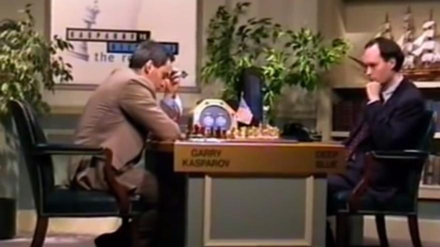 Deep Blue contra Kasparov