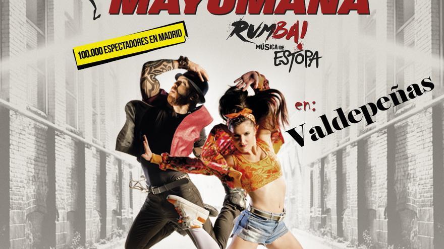 Mayumana, el cartel