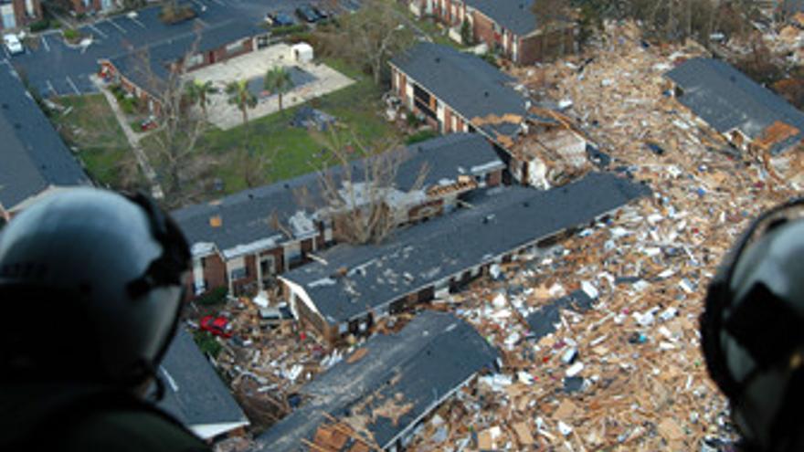 Consecuencias del huracán 'Katrina'. (EUROPA PRESS)