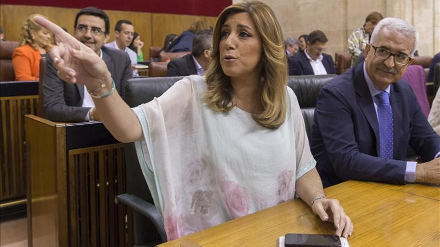 El Parlamento andaluz rechaza por tercera vez la investidura de Susana Díaz
