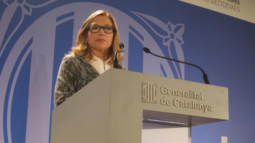 """Vicepresidenta de la Generalitat apoya que se retiren las esteladas durante la votación como señal de """"respeto"""""""