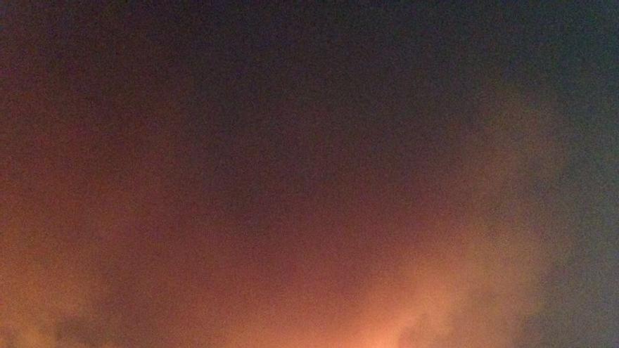 Incendio en Carcaixent.