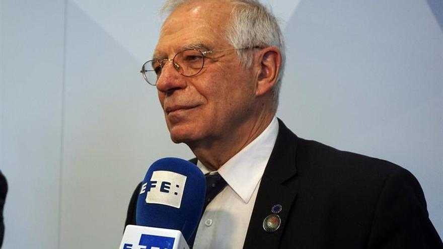 """Borrell subraya que España """"encara"""" con fuerza la siguiente fase del 'brexit'"""