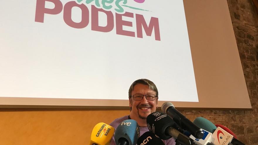 Domènech se compromete con las siglas de Podem a través de las que quiere fortalecer CatComú