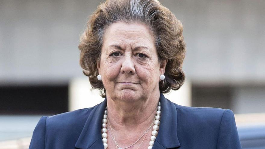 Rita Barberá, exalcaldesa de Valencia. (EFE)