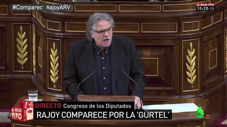 Joan Tardá en el debate sobre Rajoy y la trama Gürtel