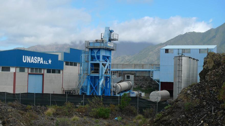 Instalaciones de Unaspa en el polígono industrial.