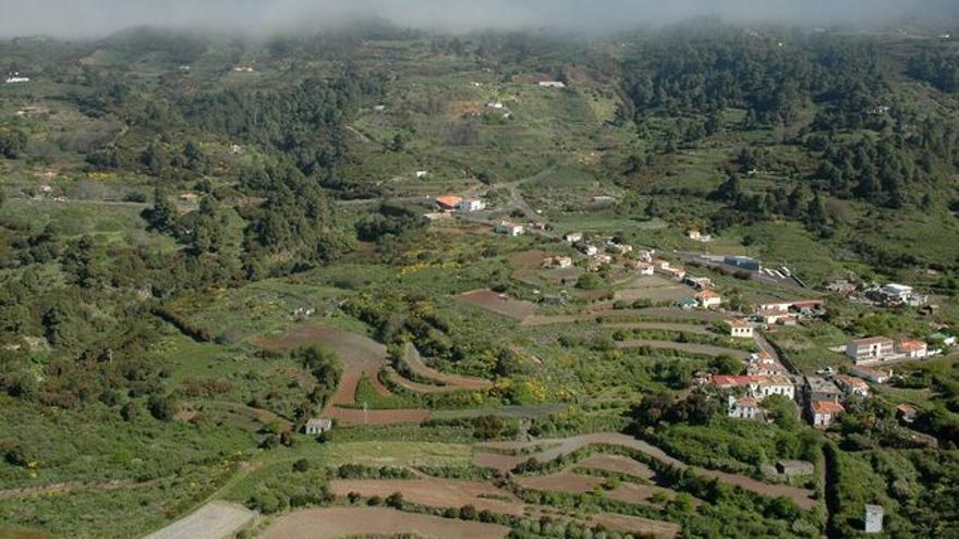 Panorámica de la zona de Llano Negro.