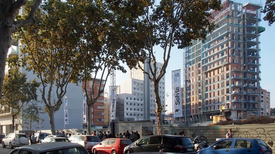 Solvia (Banco Sabadell) comercializa su primera promoción en Barcelona, con 62 viviendas