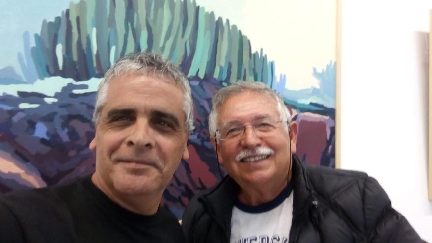 Santiago Jorge (i) y Jaime Vera.
