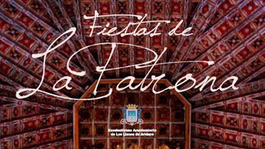 Cartel de la Gala de la Elección de la Reina de las Fiestas de La Patrona 2015 con las candidatas.