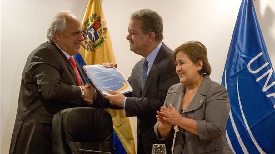 Comisión de la Unasur entrega el informe sobre las elecciones legislativas en Venezuela