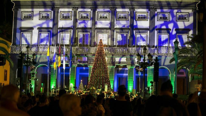 473f4366bba Un millón de bombillas led para alumbrar la Navidad en Las Palmas de Gran  Canaria