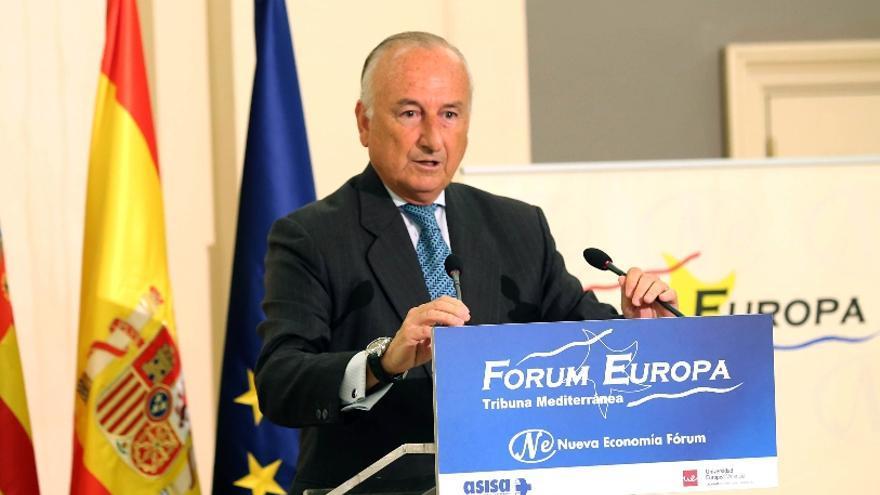 El presidente de la Autoridad Portuaria de Valencia, Rafael Aznar / ave.org.es