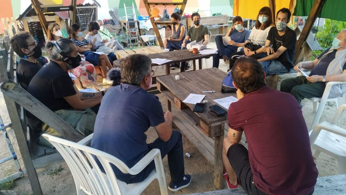 Reunión en la Huerta de Tetuán