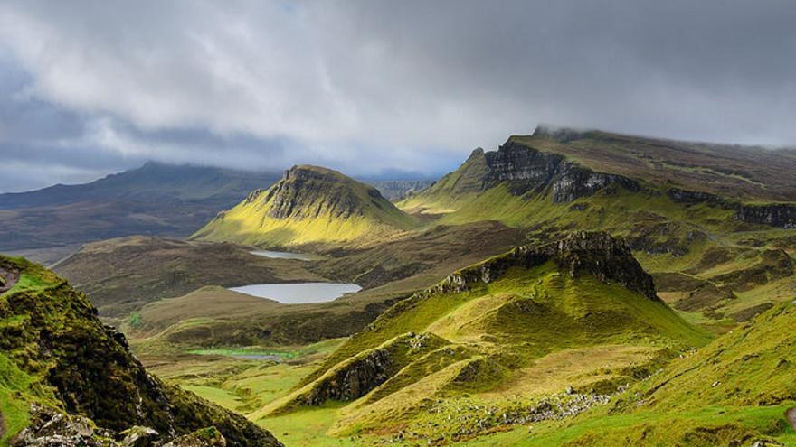 Paisajes de The Quiraing uno de los lugares más espectaculares de Skye. Luis Ascenso