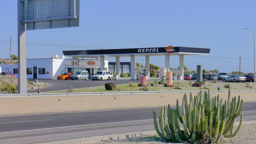 Gasolinera del grupo González, en el sur de Tenerife