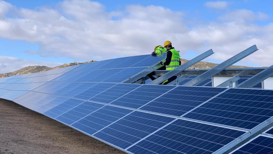 A mediados de enero se terminó la planta solar fotovoltaica de Yecla (Murcia).