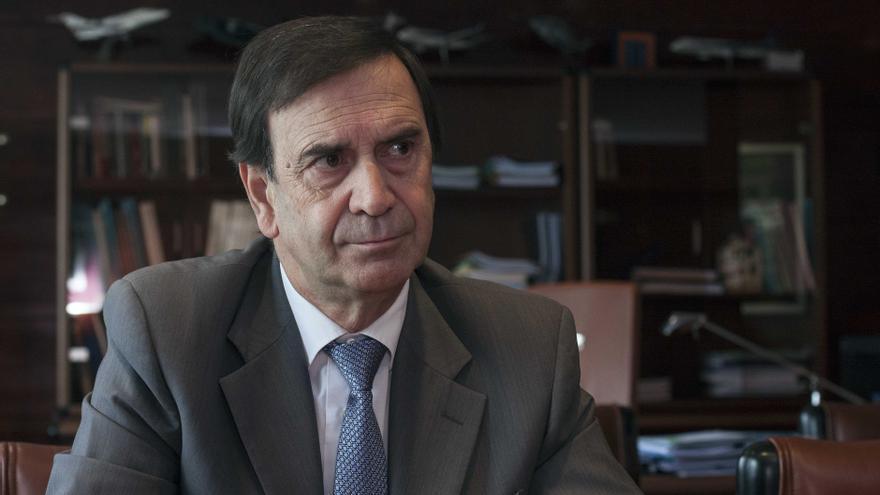 Iñaki López Gandásegui, en su despacho en Aernnova./ eldiarionorte.es